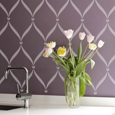 royal design studio ribbon lattice wall stencil by royal design studio wall stencils