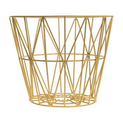 Ferm Living Yellow Wire Basket