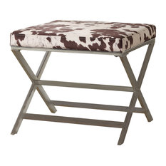 Animal Print Ottomans And Footstools Houzz
