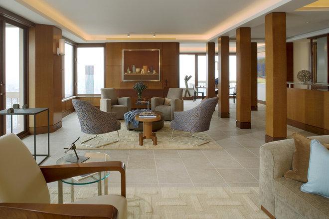 Contemporary Living Room by Elliott Kaufman