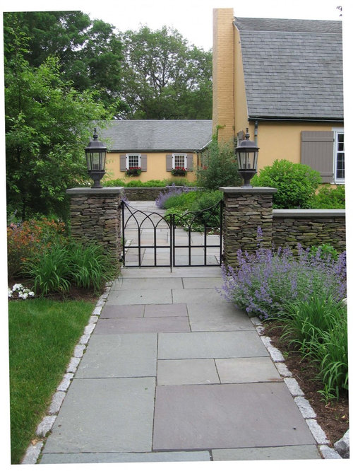Concrete slab walkway home design ideas pictures remodel and decor - Slab pathway design ideas ...