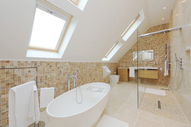 Contemporary Bathroom by nuspace - loft conversion & kitchen extension