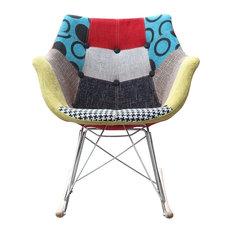 Lemoderno Fine Mod Imports Ginger Rocker Arm Chair Add