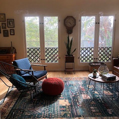 1900s Complete Home Remodel - Living Room