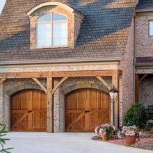 Wood Carriage House Garage Doors