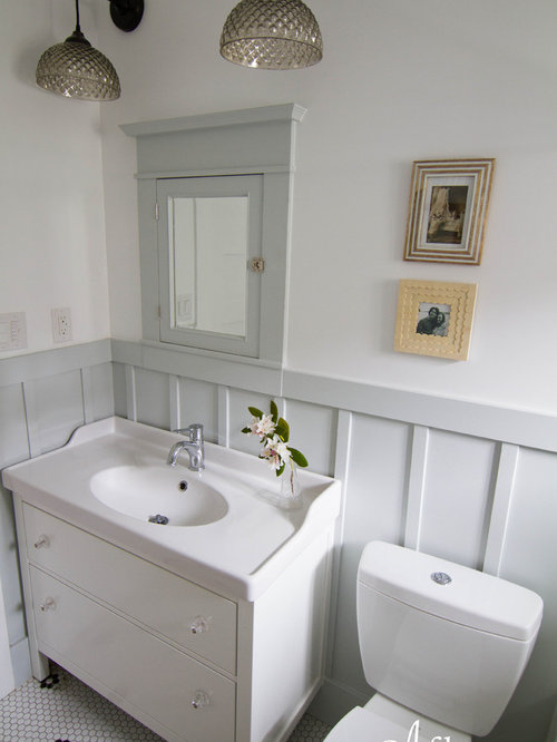 Hemnes vanities home design ideas pictures remodel and decor for Bungalow bathroom designs
