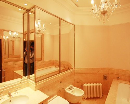 Orange bathroom design ideas renovations photos with for Pink and orange bathroom ideas