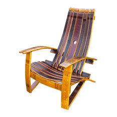 wine barrel products wine barrel adirondack chair with cover adirondack chairs alpine wine design outdoor