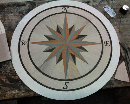 Expansive Compass Rose Home Design Ideas, Pictures, Remodel and Decor