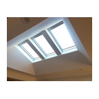 Velux electrically operated contemporain fen tre de toit et puits de lumi - Velux puits de lumiere ...