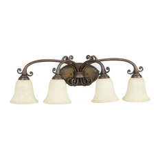 Stained Glass Vanity Light Fixtures : Stained Glass Lighting Fixture Bathroom Vanity Lights Houzz