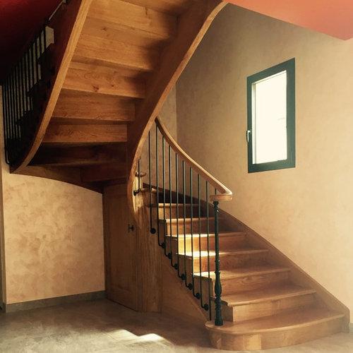 escalier l 39 anglaise. Black Bedroom Furniture Sets. Home Design Ideas