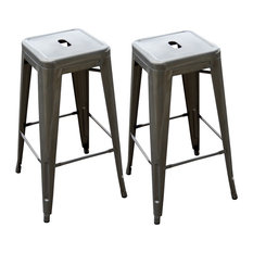 Modern Metal Bar Stools and Counter Stools | Houzz