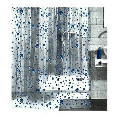 Clear shower curtain kids vinyl shower curtains for kids houzz