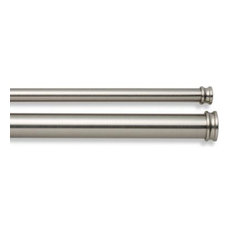 Shop Brushed Nickel Curtain Rods Products On Houzz