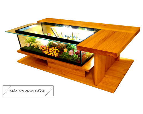 tables basses aquarium. Black Bedroom Furniture Sets. Home Design Ideas