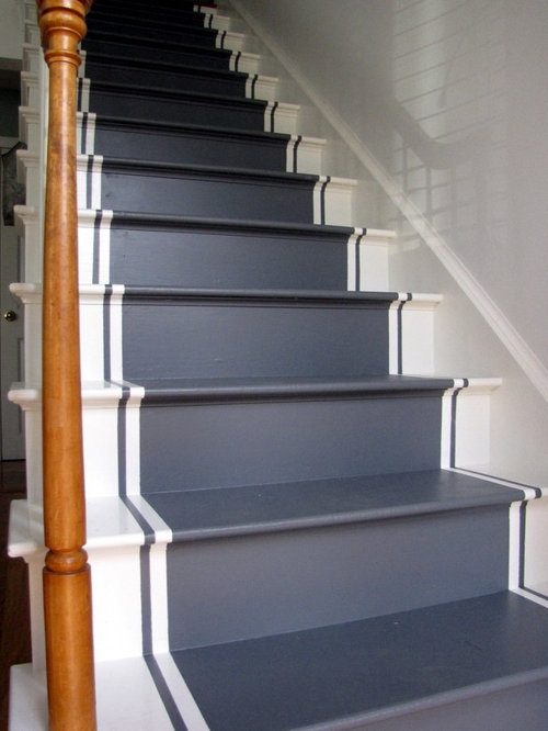 Painted Stairs Home Design Ideas Pictures Remodel And Decor