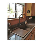 Kohler brockway wash sink eclectic kitchen sinks by for Rachiele sink complaints