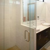 Corner Frameless Shower Enclosure