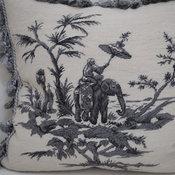 Home Needlepoint Pillow P37