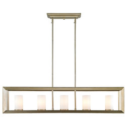 Modern Kitchen Island Lighting By Golden Lighting