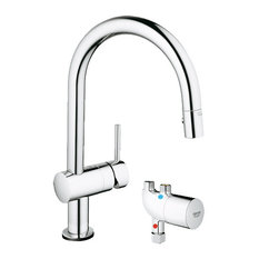 shop grohe kitchen faucet minta products on houzz