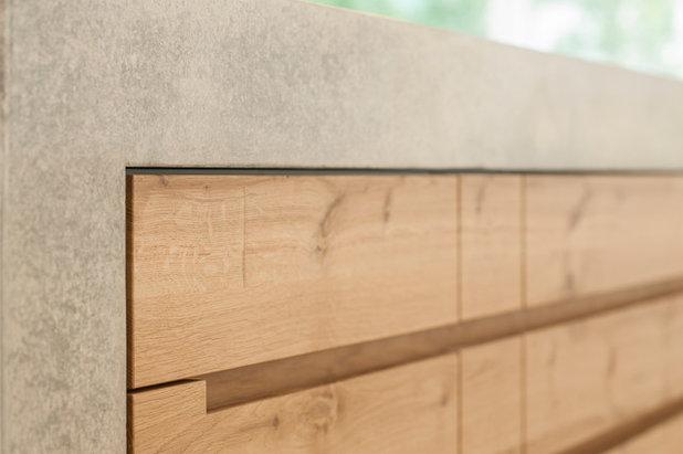 beton und holz zwei starke zutaten f r eine k che am bodensee. Black Bedroom Furniture Sets. Home Design Ideas