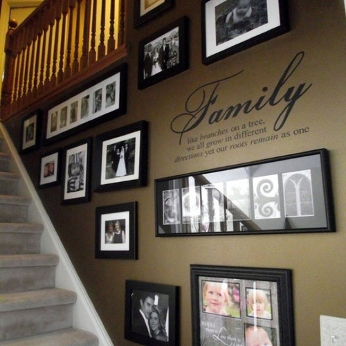 Staircase Decorating Idea Home Design Ideas Pictures