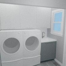 Oakland Upper Rockridge Modern Laundry Room