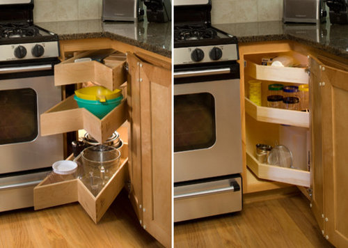 Glide-Around Corner Cabinet Solutions