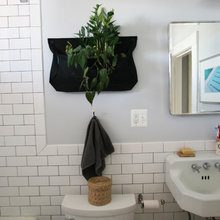 Jumbled Style Goes Vintage Chic in a D.C. Bathroom Makeover