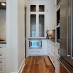 Open Ktichen With Hidden Pantry Traditional Kitchen