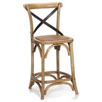 Constance Counter Stool X Back Counter Stools