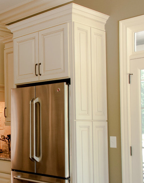 Refrigerator Surround Home Design Ideas, Pictures, Remodel and Decor