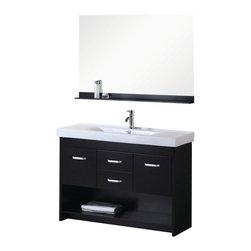 Single Drop In Sink Vanity Set The Citrus 48 Single Sink Vanity