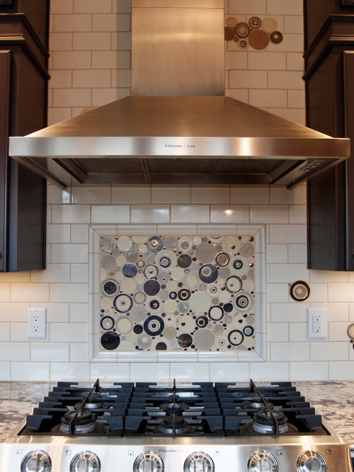 Porcelain Tile Backsplash Material Kitchen Design Ideas