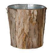 Wrapped Bark Pot
