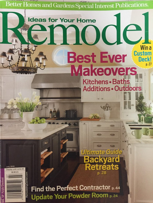 Featured Better Homes Gardens Remodel Magazine