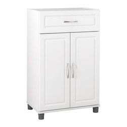 Ameriwood - Storage Cabinet with Drawer - Slow close hinges. Two ...