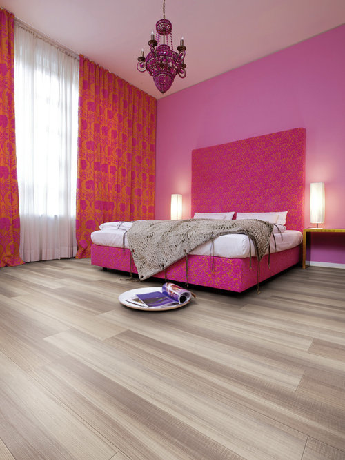 Pink Bedroom Design Ideas Renovations Photos With Vinyl