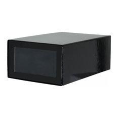 moderne schuhregale. Black Bedroom Furniture Sets. Home Design Ideas