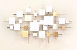 Multiples Mirror Wall Sculpture