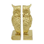 Owl Bookends Contemporary Nursery Decor By Pottery