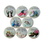 Set of 8 Vintage Sea Life Cabinet Knobs - Beach Style ...