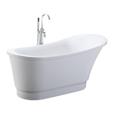 Shop freestanding soaking tub products on houzz for Soaker tub definition