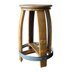alpine wine design swivel wine barrel counter stool natural finish bar stools and alpine wine design outdoor