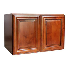 Shop Cathedral Oak 33X12X24 Wall Cabinet Products on Houzz