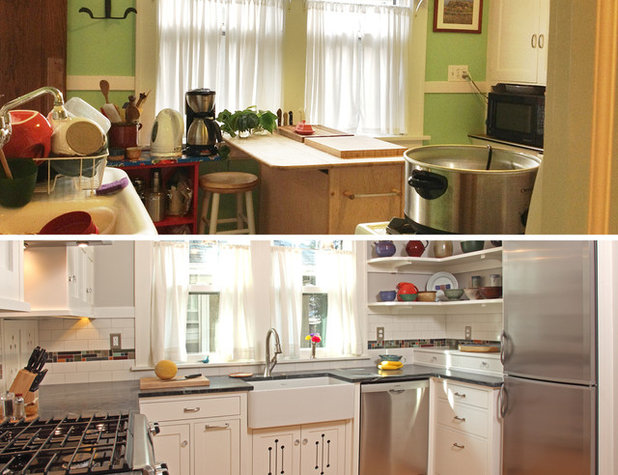 The 100-Square-Foot Kitchen: Farm Style With More Storage ...