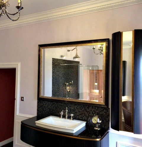 Scotland Bathroom Design Ideas Renovations Photos With Glass Worktops