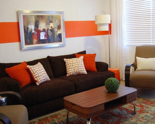 Contemporary living room design ideas renovations for Multi color living room ideas